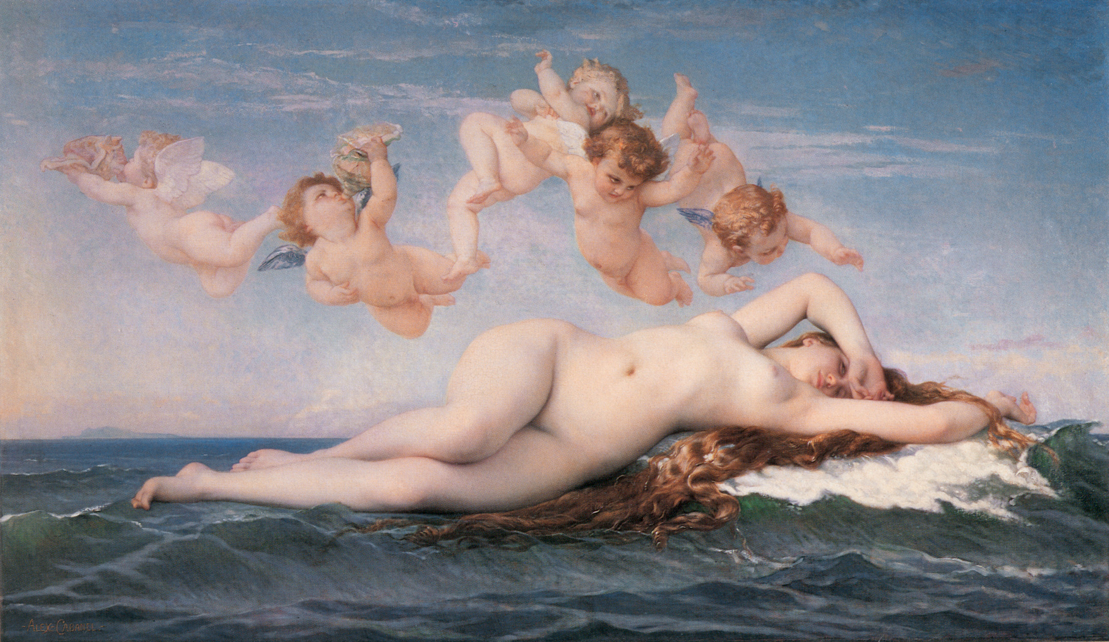 """The Birth of Venus,"" by Alexandre Cabanel"